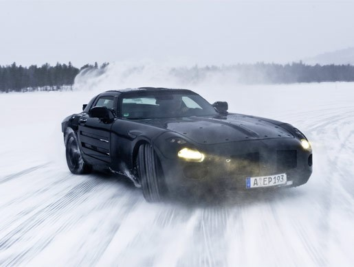 Mercedes-Benz SLS AMG Gullwing mule - Image 9