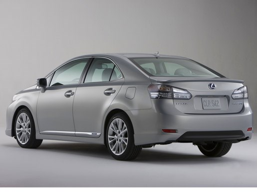 GALLERY - Lexus HS250h at Detroit 2009 - Image 2