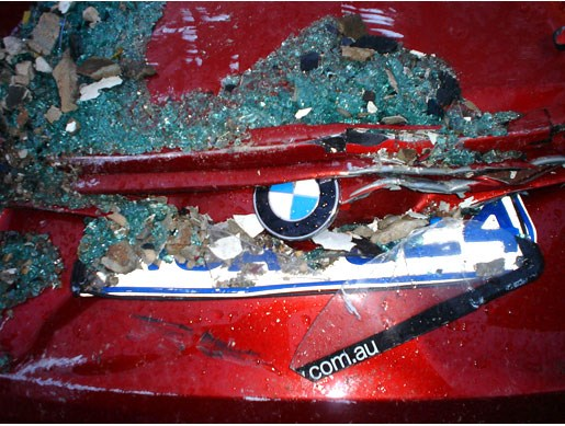 Death of a press car - Image 1