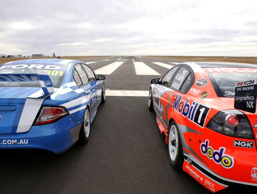 V8 Supercar aero test - Image 1