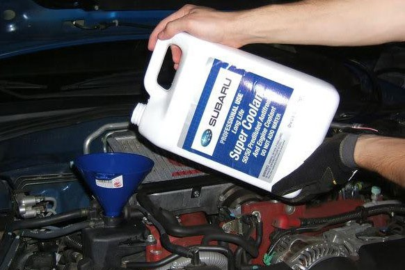 Changing Coolant