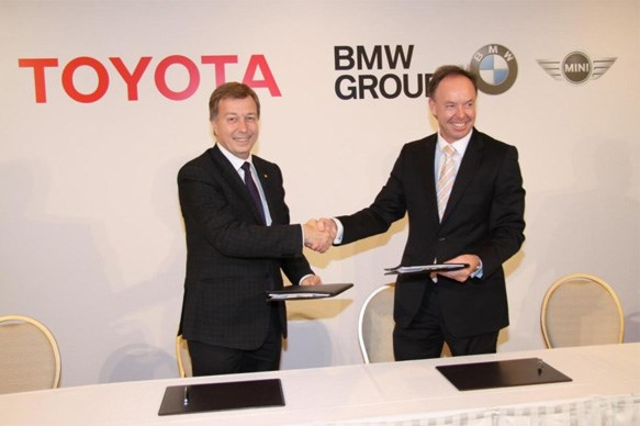 Toyota and BMW