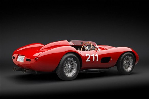 How rare is the Ferrari 625 TRC Spider?