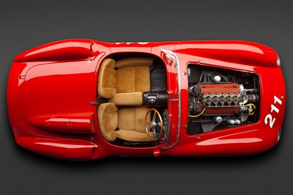 What engine does the Ferrari 625 TRC use?
