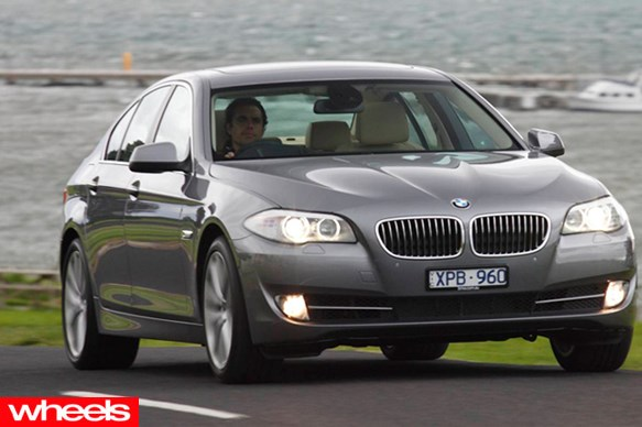 Wheels magazine: BMW 528i