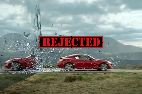 Our favourite banned car commercials
