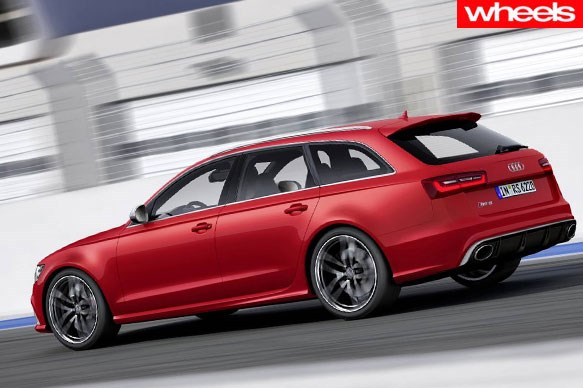 The family wagon that's faster than a Ferrari