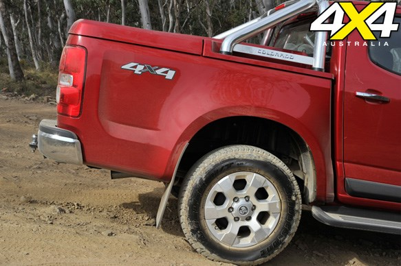 HOLDEN COLORADO LTZ<br>Breaking new ground: 6/10