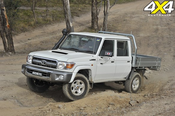 TOYOTA LC DOUBLE-CAB 79 | Value for money: 5.7/10
