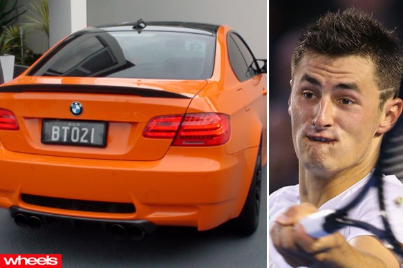 Bernard Tomic - BMW M3