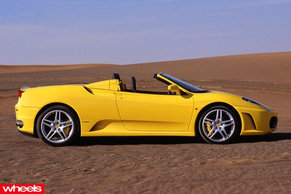 Bernard Tomic - F430 Spider