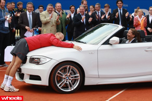 Nikolay Davydenko - BMW 1 convertible