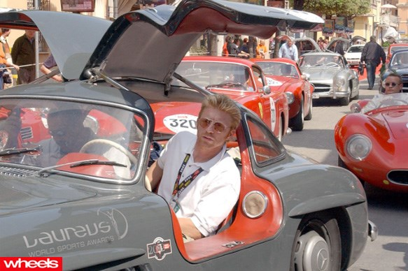 Boris Becker - Mercedes 300SL