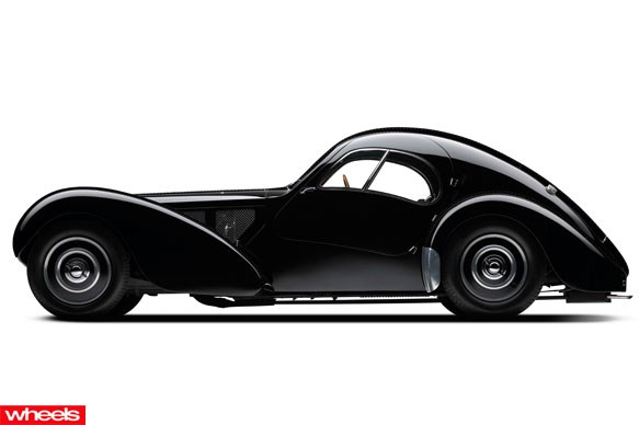 1936 Bugatti 57SC Atlantic $40 million