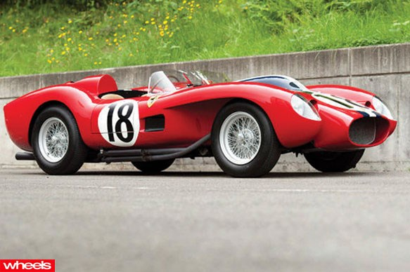 1957 Ferrari 250 Testa Rossa $12.2 million
