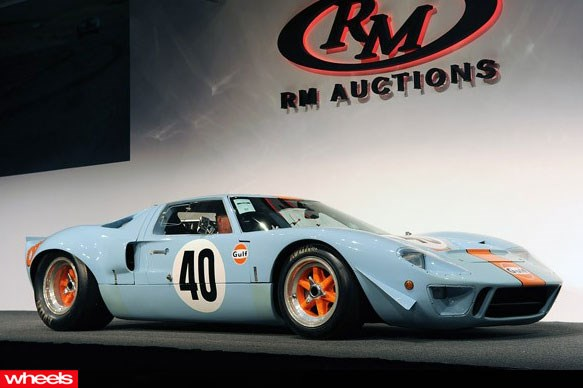 1968 Ford GT 40 Gulf Mirage $11 million