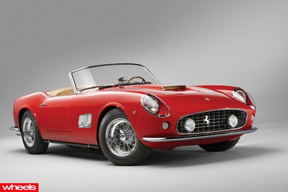 1961 Ferrari 250 GT SWB California Spider $10 million