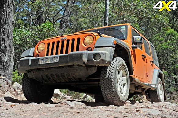4th Place: Jeep Wrangler Unlimited Sport