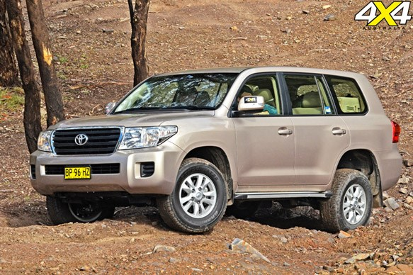 2nd Place: Toyota LandCruiser 200 Series GXL