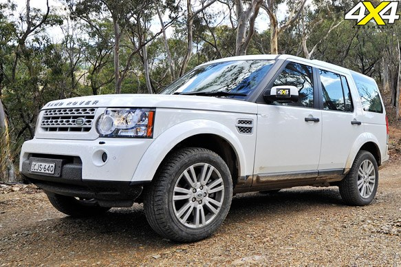 WINNER: Land Rover Discovery 4
