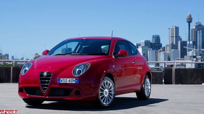 Wheels magazine, first drive, Alfa Mito, small hatchback, Italy