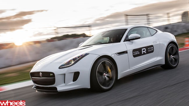 Wheels magazine, first drive, Jaguar, F-Type, coupe, Spain