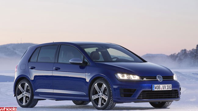 Wheels magazine, motoring news, Wheels, Volkswagen Golf R, Haldex, ice driving