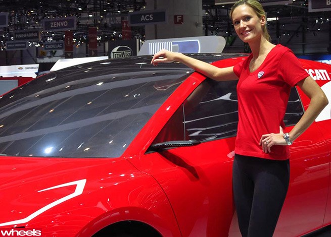 Girls of Geneva Motor Show