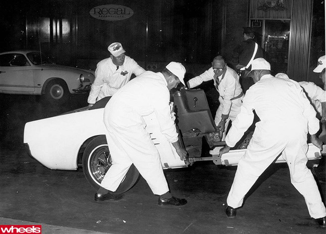 Ford engineers dismantle the Mustang