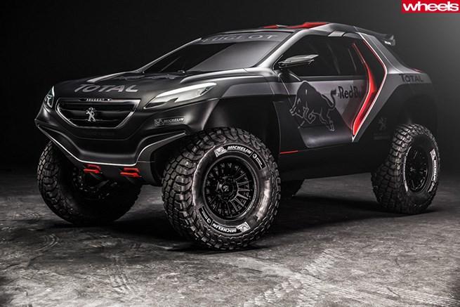 Bad Ass Suv >> Peugeot S Badass Dakar Suv Wheels