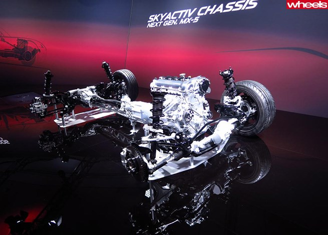Mazda MX-5 next-gen chassis