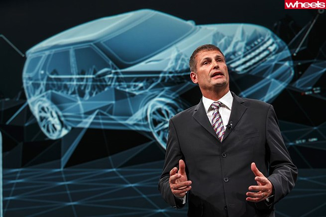 Phil Popham, Group Marketing Director, Jaguar Land Rover