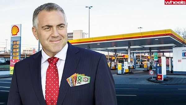 Joe Hockey talks federal budget for motorists.