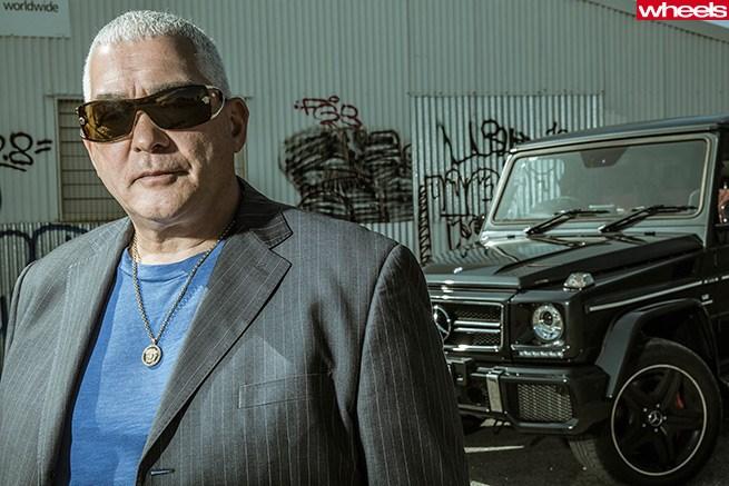 Mick Gatto: Mick Gatto Road Tests For Wheels