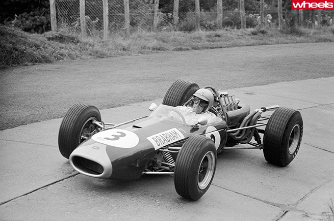 Jack Brabham Nurburgring Germany 1966