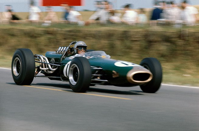 Sir Jack Brabham French Grand Prix 1966
