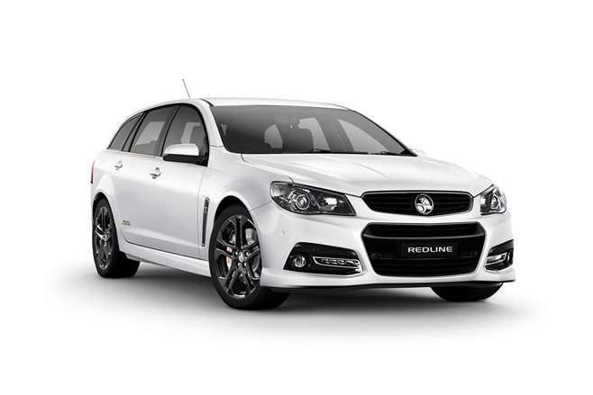 Holden Commodore MY15 SS Redline update