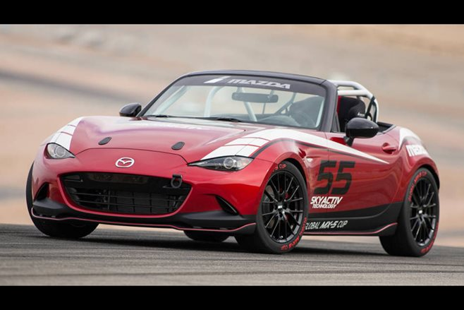 Mazda MX-5 Cup ND racer