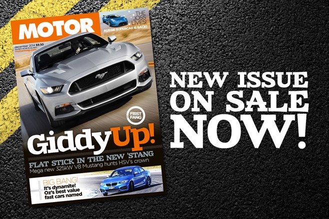 December MOTOR issue on sale