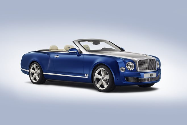 Bentley Mulsanne Grand Convertible front