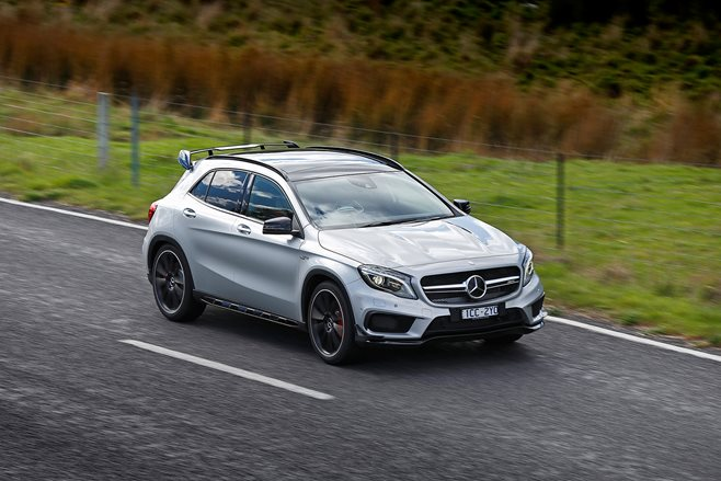 Mercedes-Benz GLA45 AMG review test drive