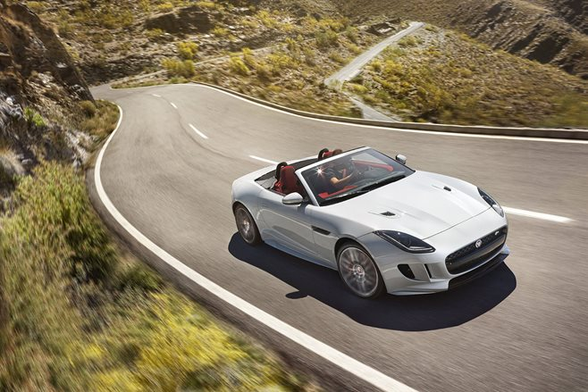 Jaguar F-Type 2015 update