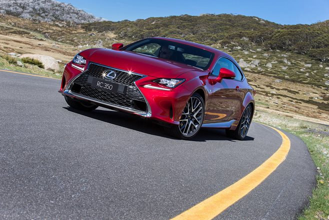 Lexus RC350 F Sport review