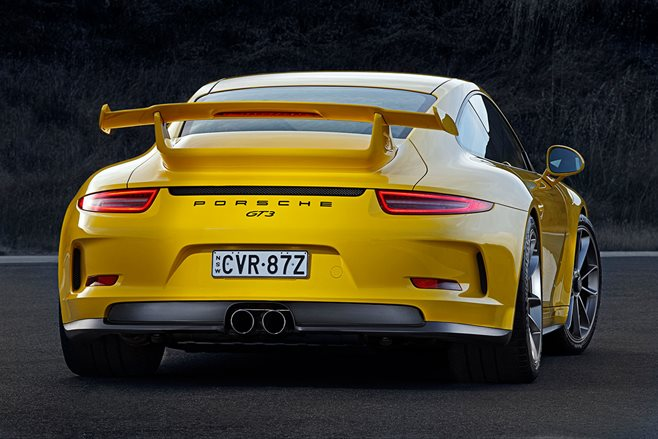 Porsche 991 GT3 review test drive