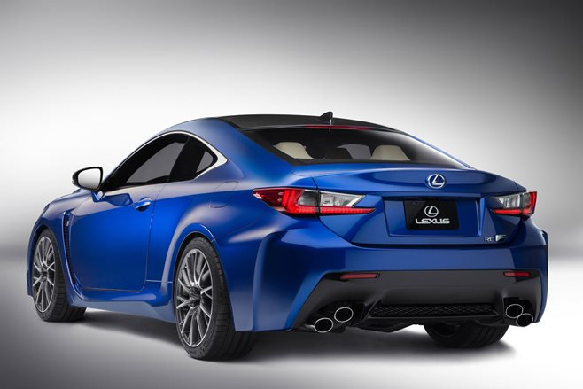 Lexus RC F - rear view