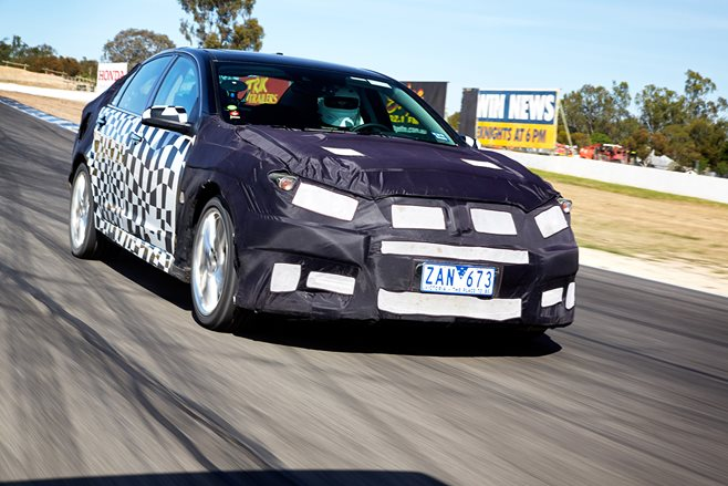VF Commodore engineering