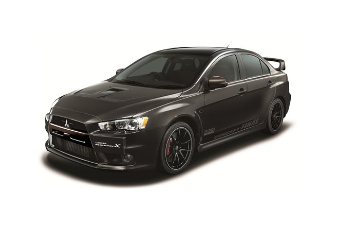 Mitsubishi Evolution X Final Edition