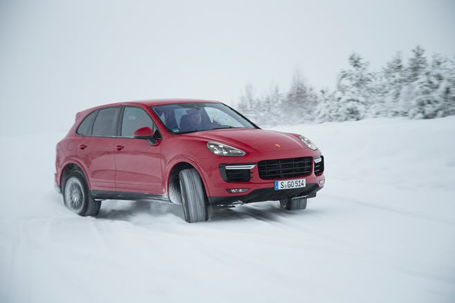 Porsche Cayenne Turbo S review test drive