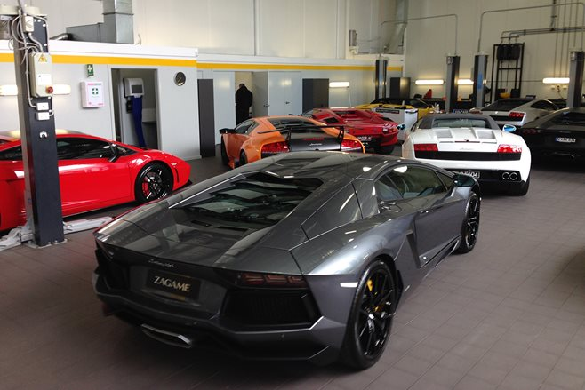 Lamborghini collection Melbourne