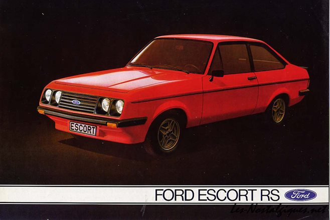 47. Ford Escort RS2000